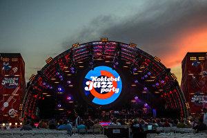 Перед открытием фестиваля Koktebel Jazz Party - 2016