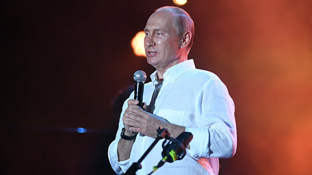 Владимир Путин посетил фестиваль Koktebel Jazz Party